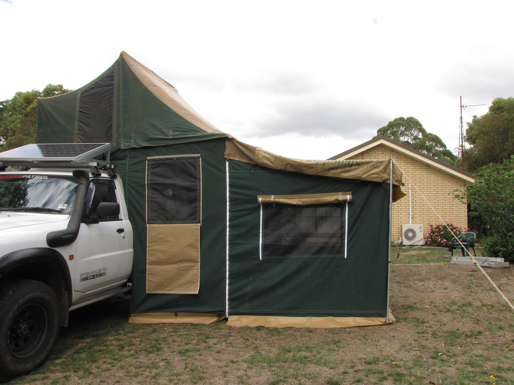 Cuppa  sc 1 st  Nissan Patrol & FOR SALE - Shippshape Rooftop Tent.