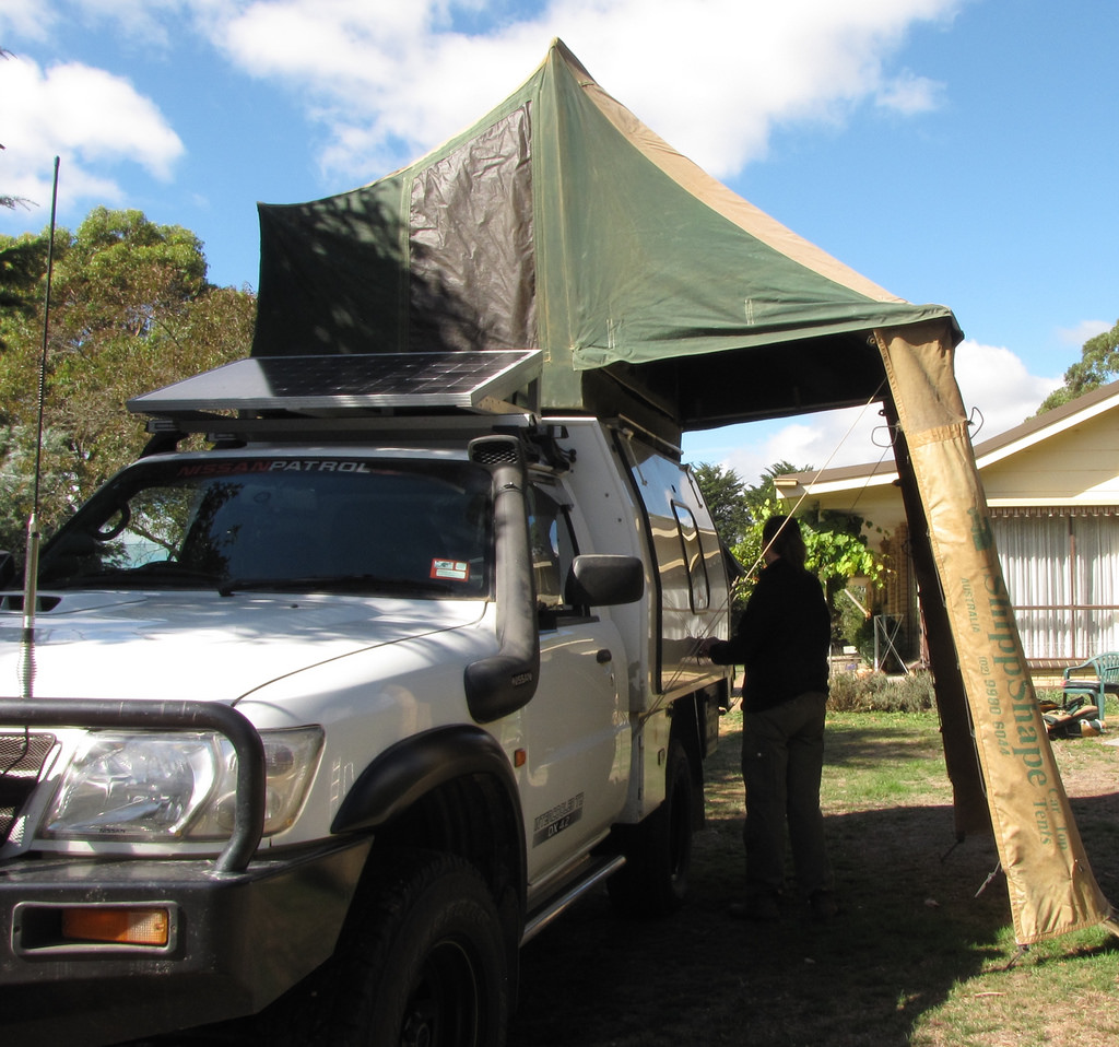 Cuppa & FOR SALE - Shippshape Rooftop Tent.