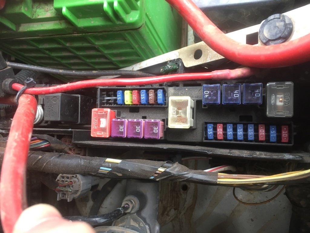 y61 4 8 fuse box engine bay rh nissanpatrol com au nissan patrol fuse box  diagram
