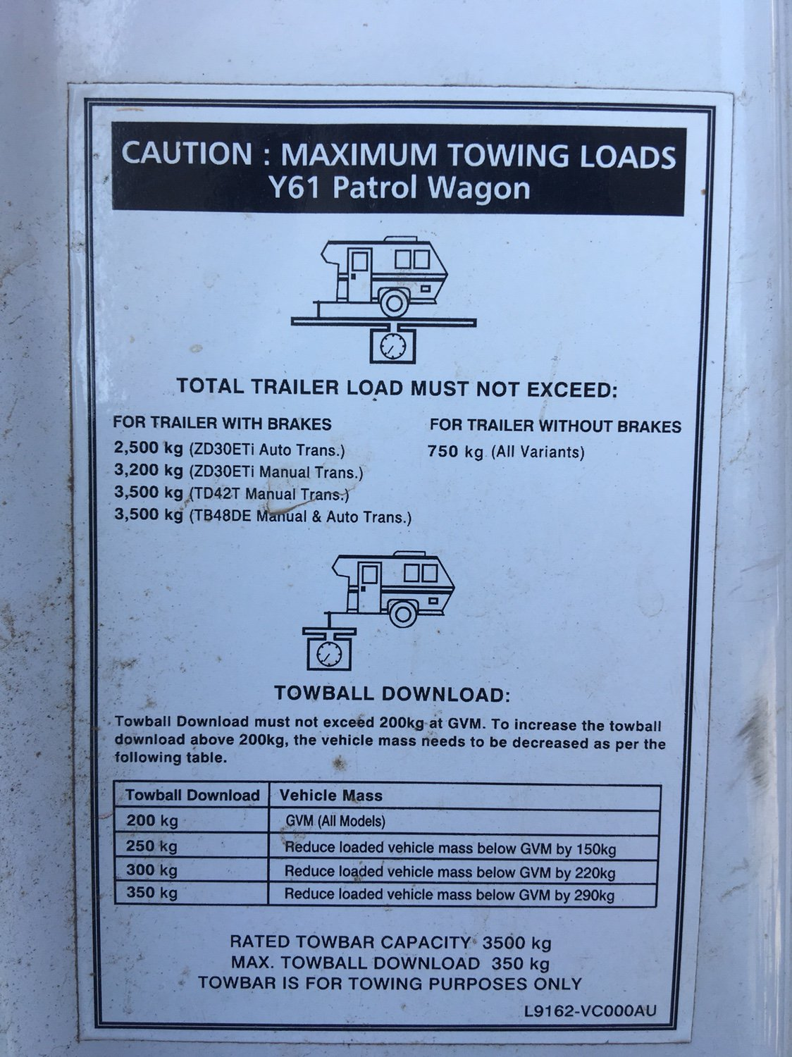 Towing camper trailer with zd30 patrol  - Page 3