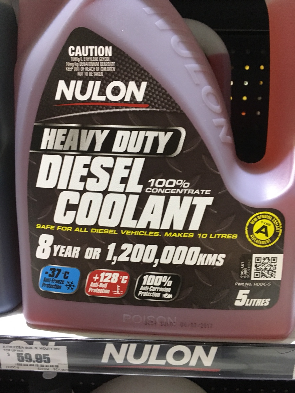 Coolant brand experiences / brand recommendations