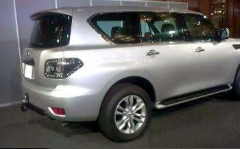 The all New 2010 Nissan Patrol 4wd
